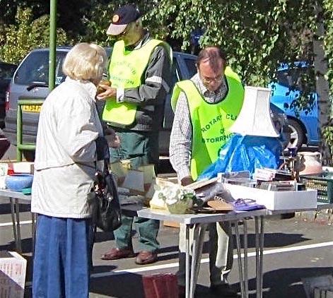 Storrington Rotary Bank Holiday Car Boot Sale @ Storrington Library Car Park | Storrington | United Kingdom