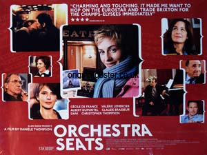 "Twinning Association: French film ""Orchestra Seats"" @ Trinity Methodist Main Hall 