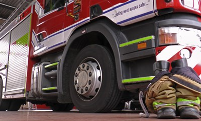 Fire Service Boots