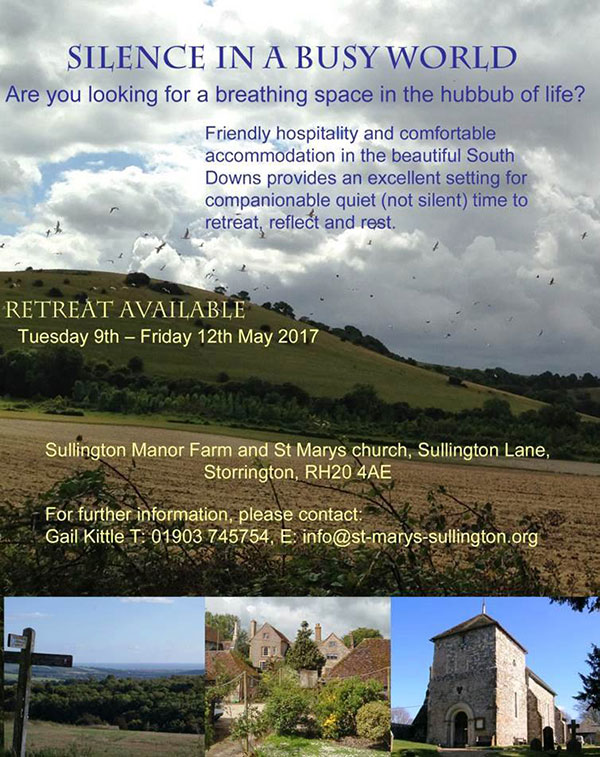 Retreat: Silence in a busy world @ St. Mary's Church | Storrington | England | United Kingdom