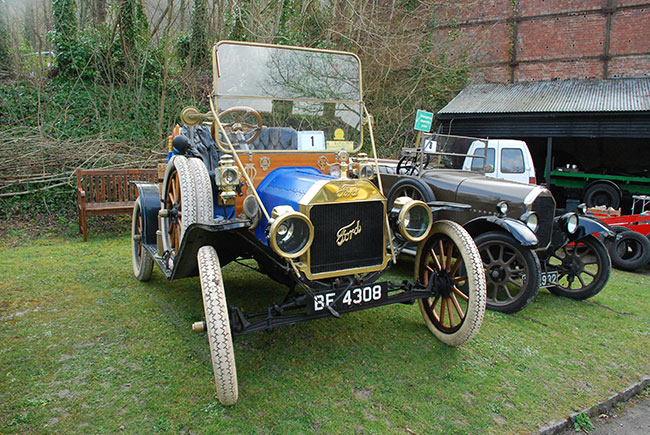 Amberley Vintage Car Show @ Amberley Museum & Heritage Centre | Amberley | United Kingdom