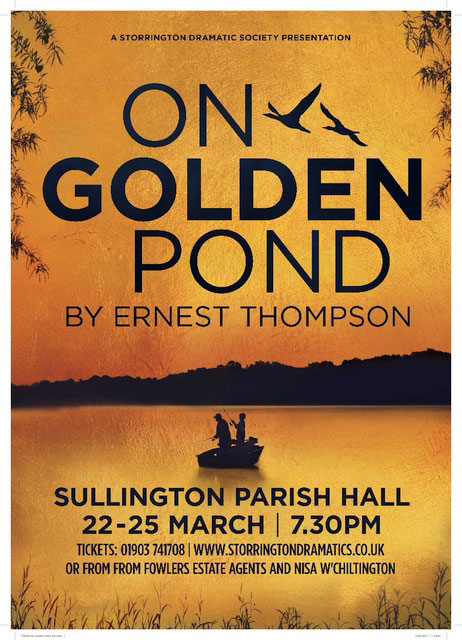 Storrington Dramatic Society presents On Golden Pond @ The Parish Hall | Storrington | United Kingdom