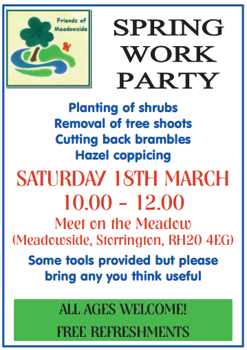 Friends of Meadowside Spring working party @ The Meadow | Storrington | England | United Kingdom