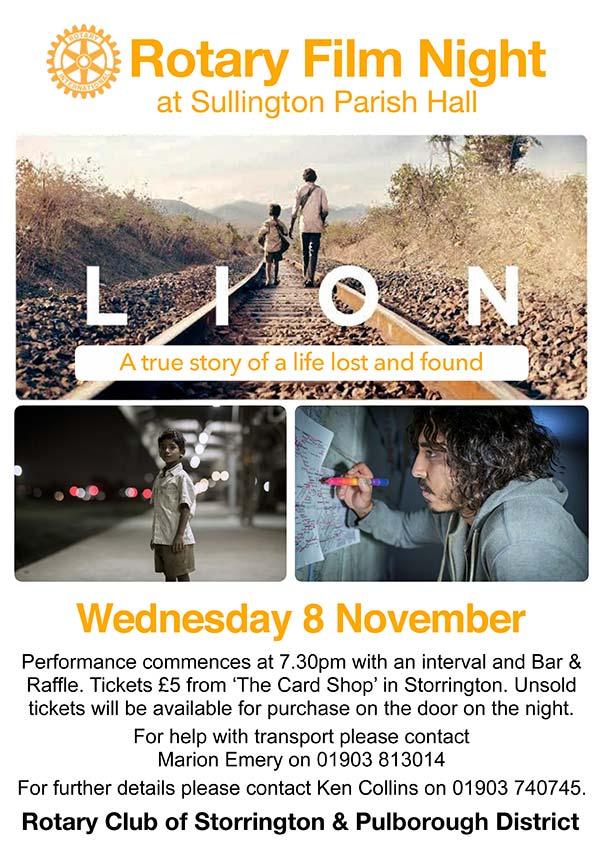 Storrington Film Nights @ The Parish Hall | Storrington | United Kingdom