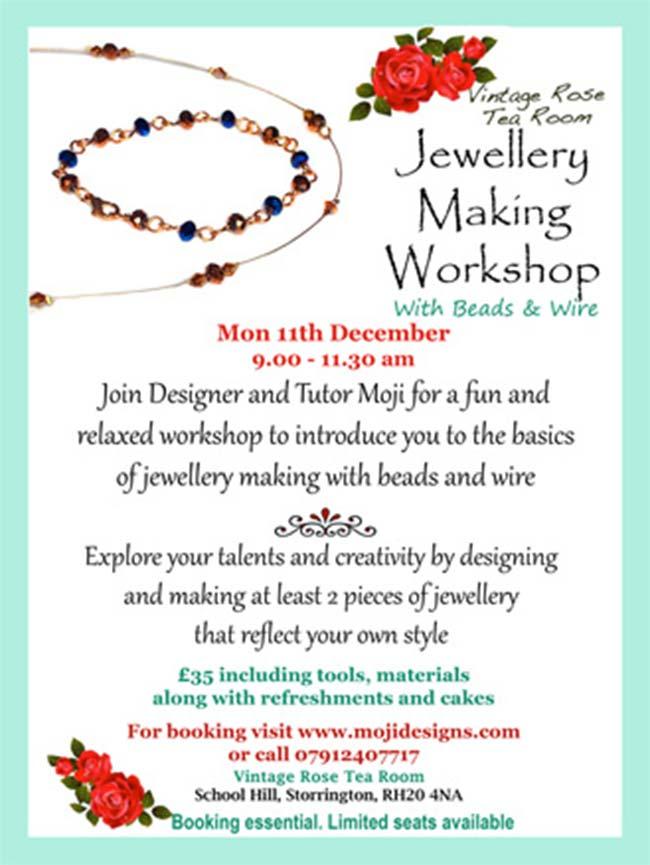 Jewellery making workshop storrington stopboris Images