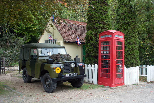 Amberley Museum Classic Land Rover