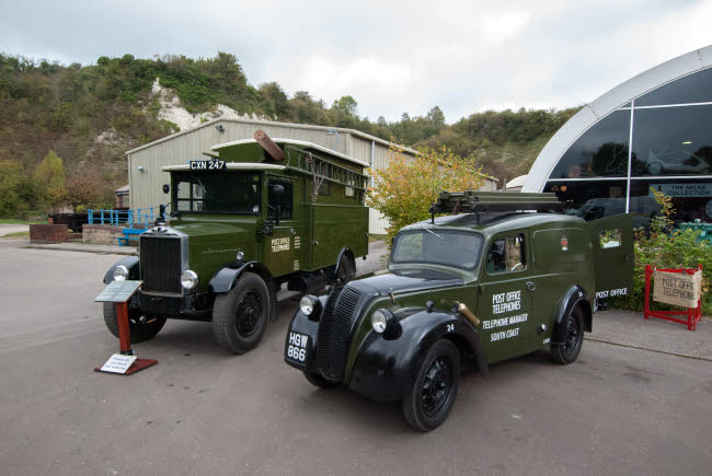 Amberley Museum Post Office Vehicles