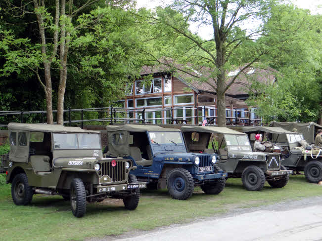 Amberley Museum Home Front Jeeps