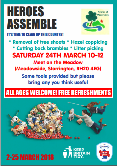 Friends of Meadowside Spring Work Party @ The Meadow | Storrington | England | United Kingdom