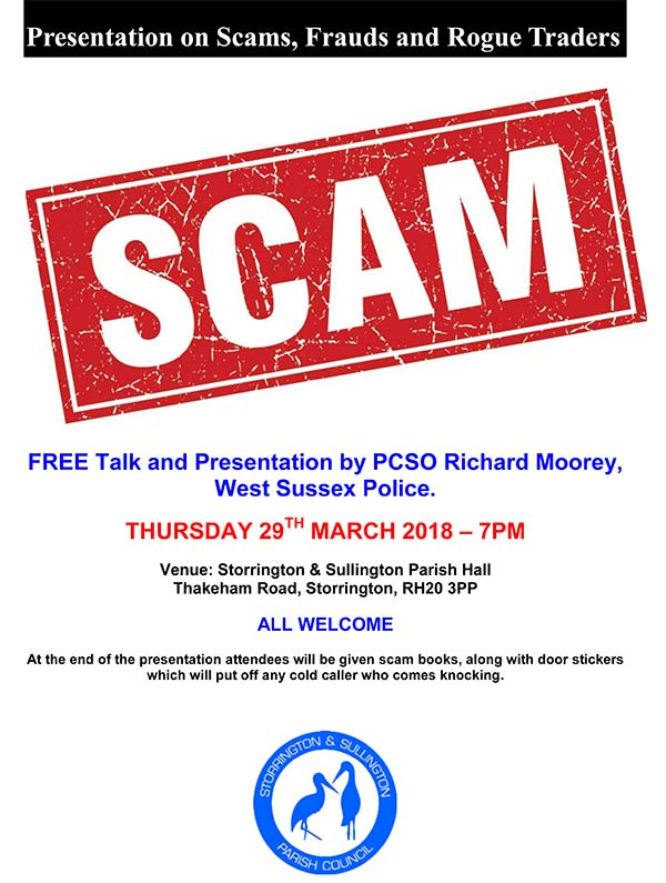 Scams & rogue traders presentation