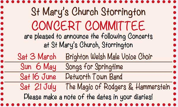 Concerts at St. Mary's @ St. Mary's Church | Storrington | England | United Kingdom