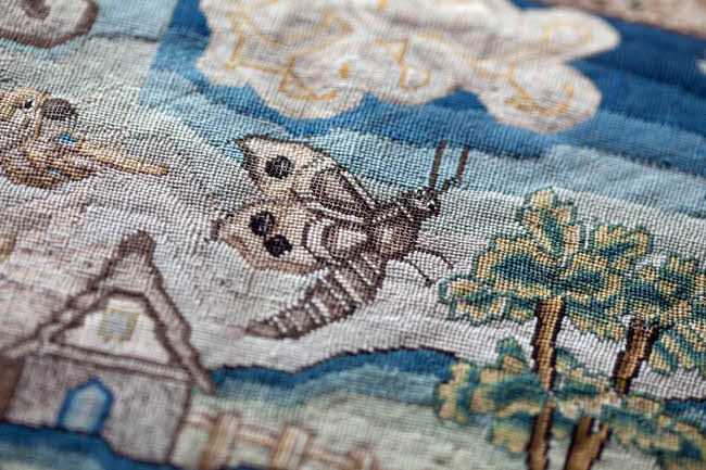 Parham Needlework on Display @ Parham House & Gardens | United Kingdom