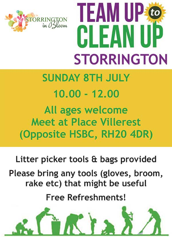 Storrington In Bloom - Team Up to Clean Up @ Place Villerest | Storrington | England | United Kingdom