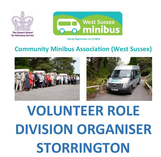 Community Minibus Organiser ad