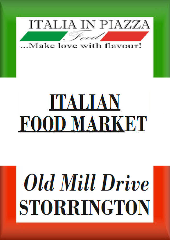 Italian Food Market @ Old Mill Drive | Storrington | England | United Kingdom
