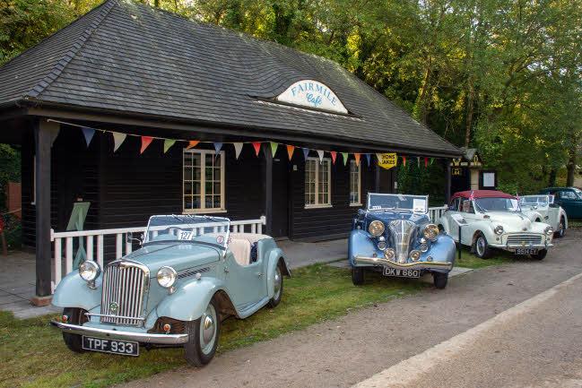 Historic vehicles at Amberley