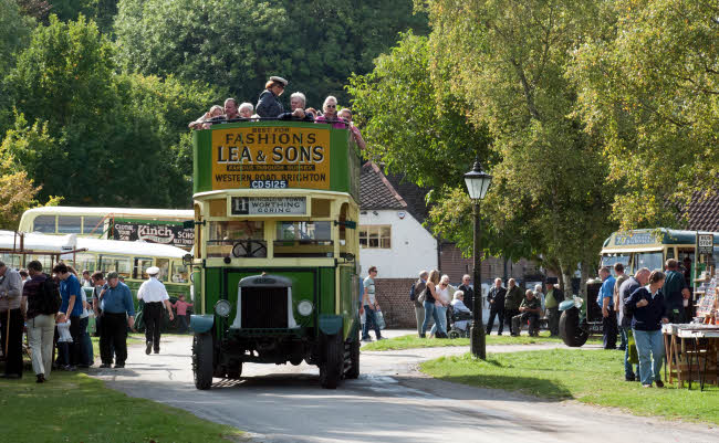 Autumn Bus Show at Amberley @ Amberley Industrial Museum | Amberley | England | United Kingdom
