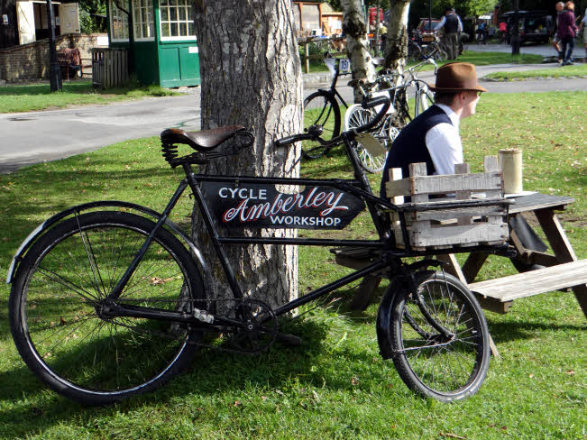 Historic cycles at Amberley