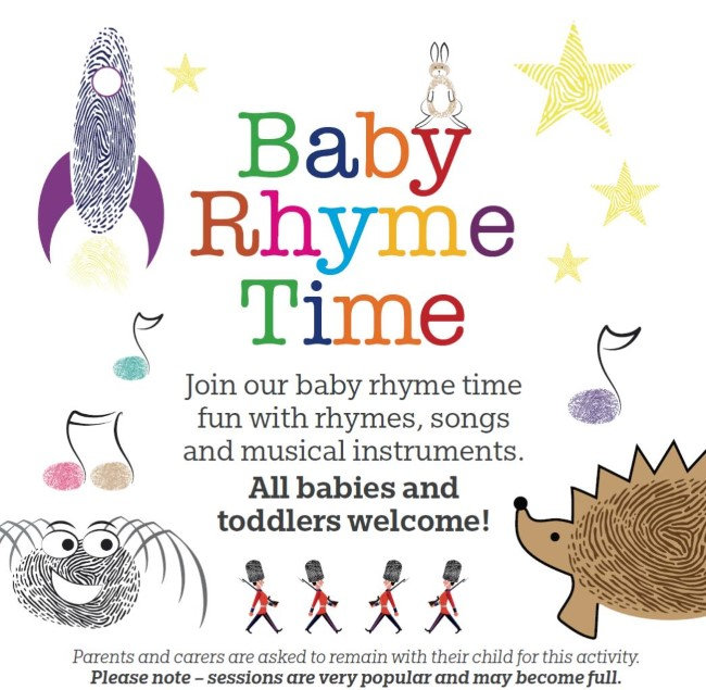 Library Baby Rhyme Time