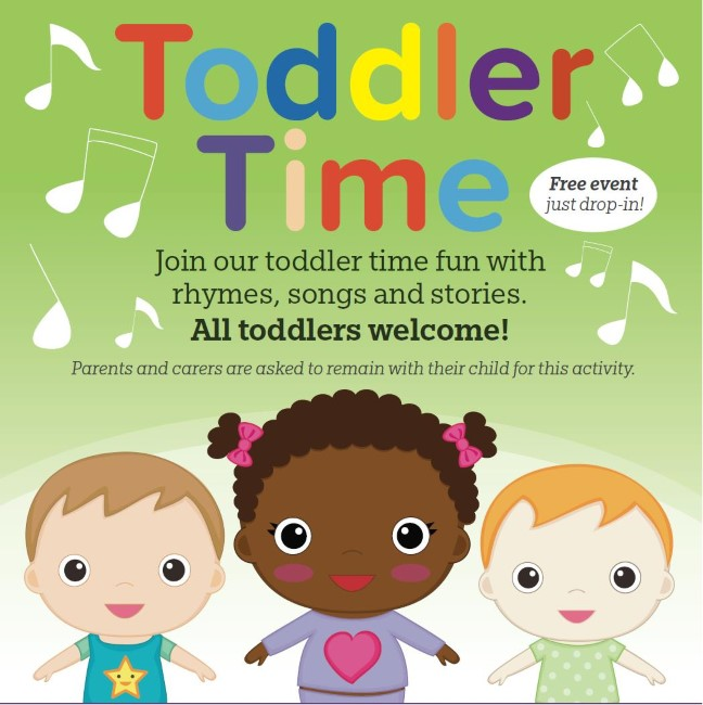 Toddler Time @ Storrington Library | Storrington | England | United Kingdom