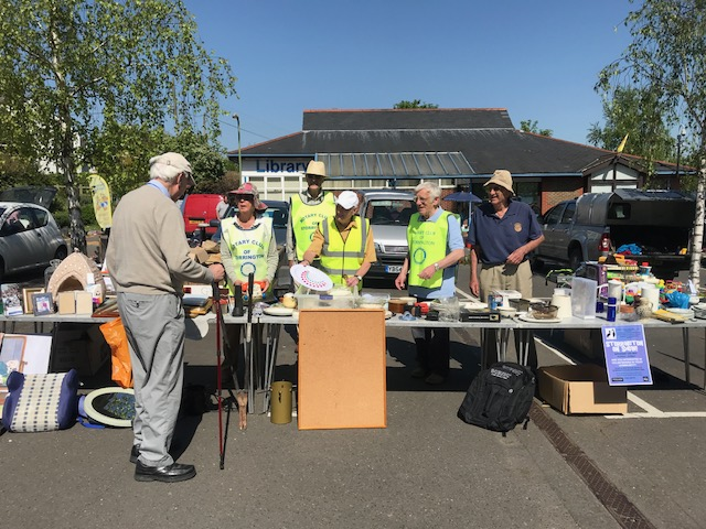 Rotary Car Boot Sale