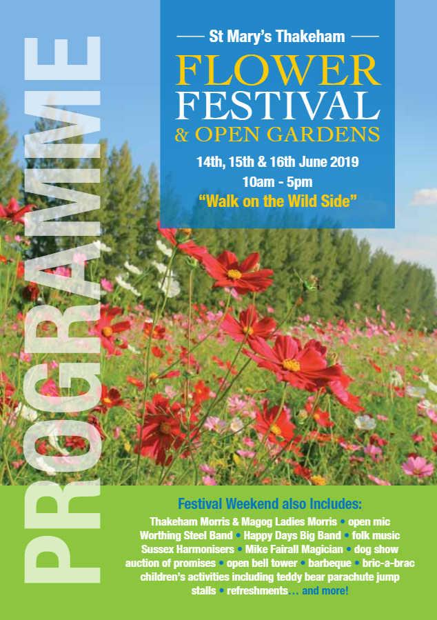 St Mary's Thakeham Flower Festival