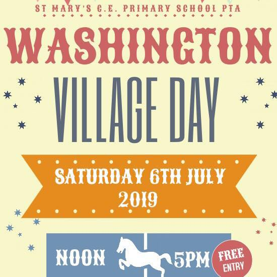 Washington Village Day 2019 @ St Mary's CofE Primary School | Washington | England | United Kingdom