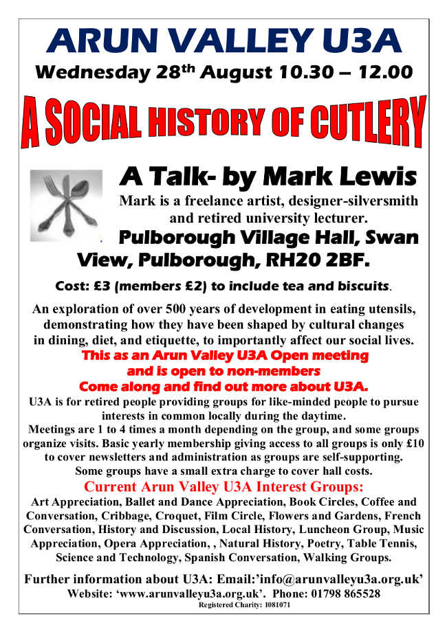 A social history of cutlery