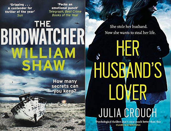 Shaw and Crouch book covers
