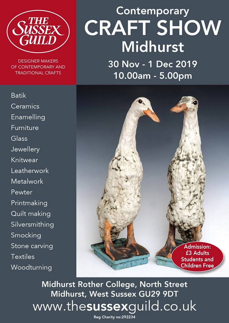 Sussex Guild Contemporary Craft Show @ Midhurst Rother College | England | United Kingdom