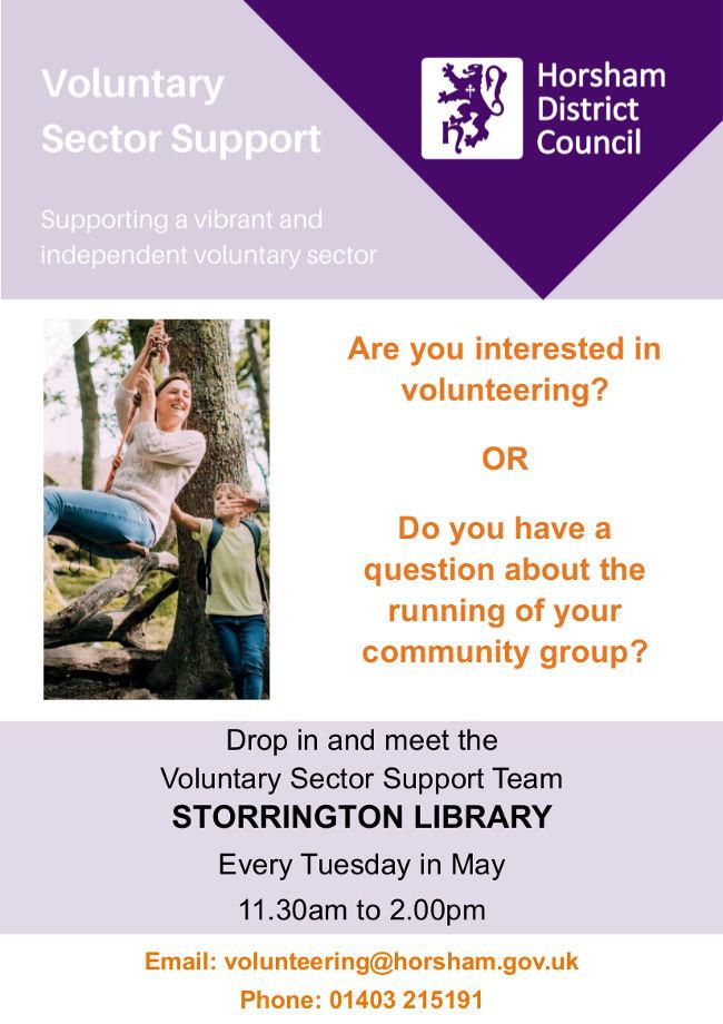 Volunteering Drop-in