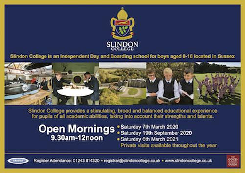 Slindon College poster
