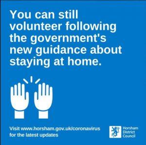 Still OK to volunteer
