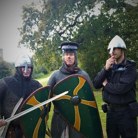 heritage crime policemen