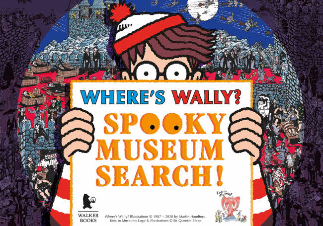 Where's Wally? Spooky Search @ Amberley Museum | Amberley | England | United Kingdom