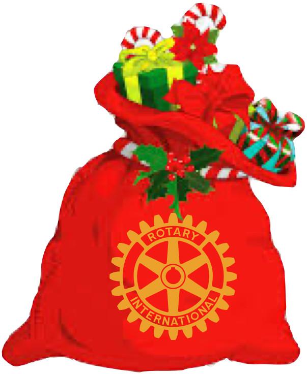 Rotary Christmas sacks