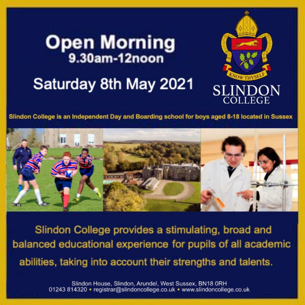 Slindon College Open Day Details