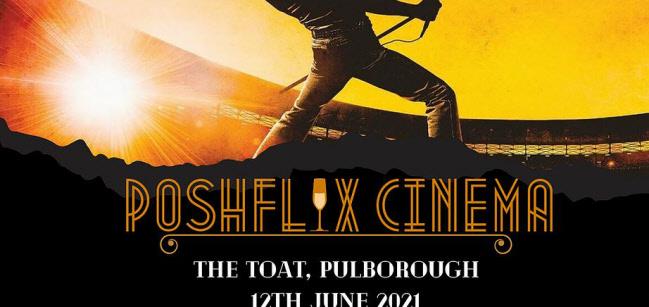 Dark and Dusky Outdoor Cinema: Bohemian Rhapsody @ Toat Cafe | North Heath | England | United Kingdom