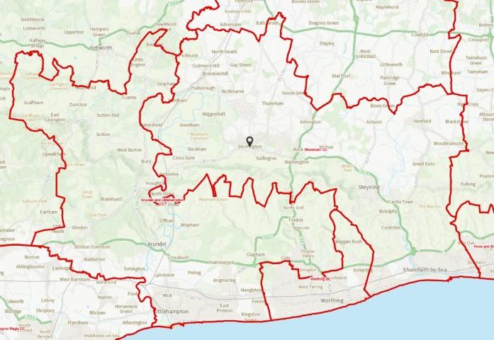 Proposed Shoreham constituency