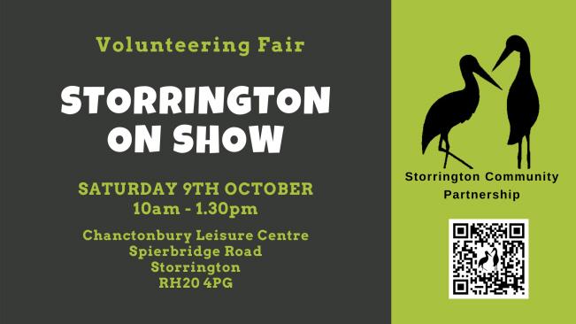 Storrington on Show Volunteering Fair @ Chanctonbury Leisure Centre | Storrington | England | United Kingdom