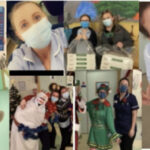 Nurses skydive for Rockinghorse charity