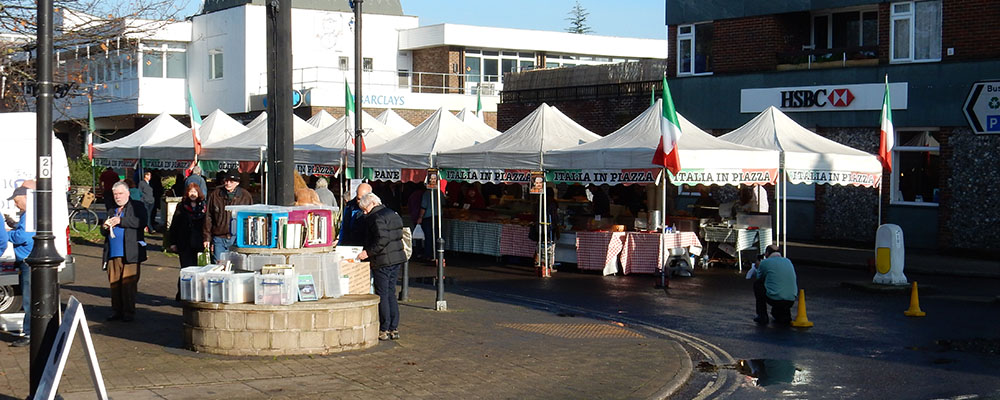 Italian market, Storrington
