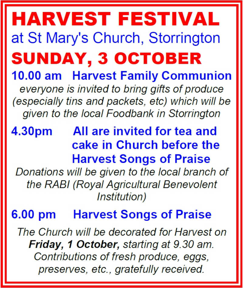 Harvest Festival @ St Mary's Parish Church   Storrington   England   United Kingdom
