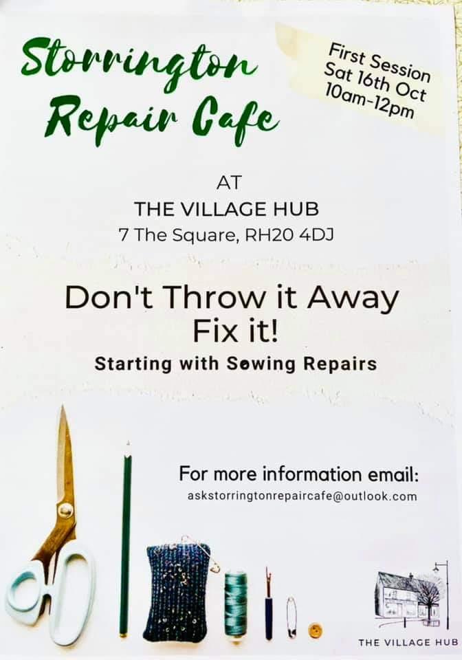 Storrington Repair Cafe @ The Village Hub | Storrington | England | United Kingdom